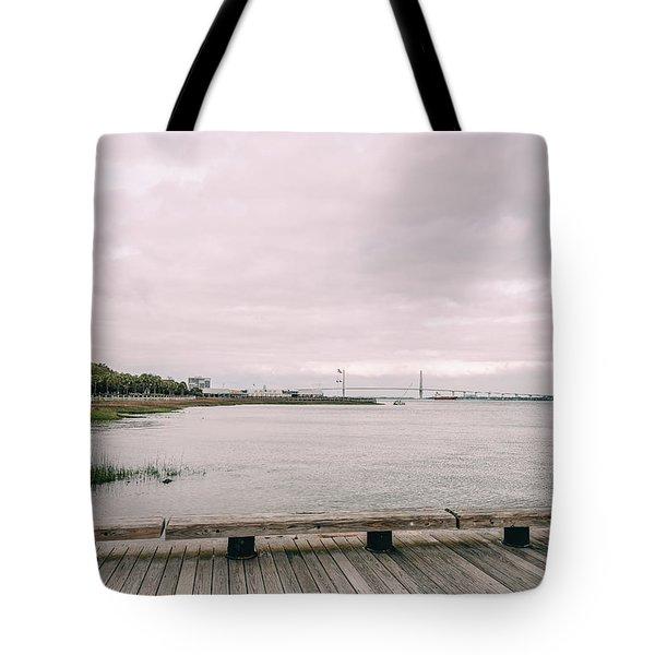 Across The Marsh Tote Bag