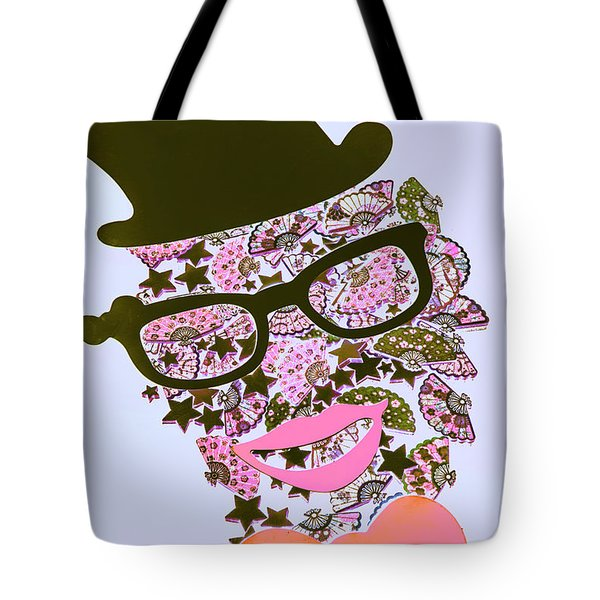 Actin Expressionism Tote Bag