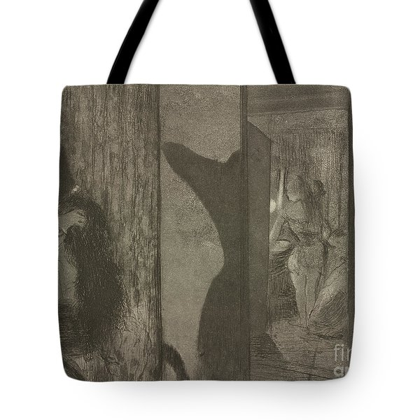 Actresses In Their Dressing Rooms Tote Bag