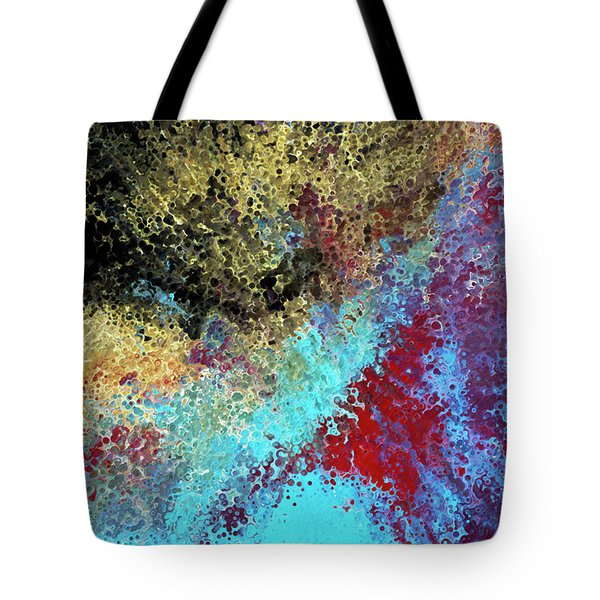 Acts 1 8. Receive Power Tote Bag