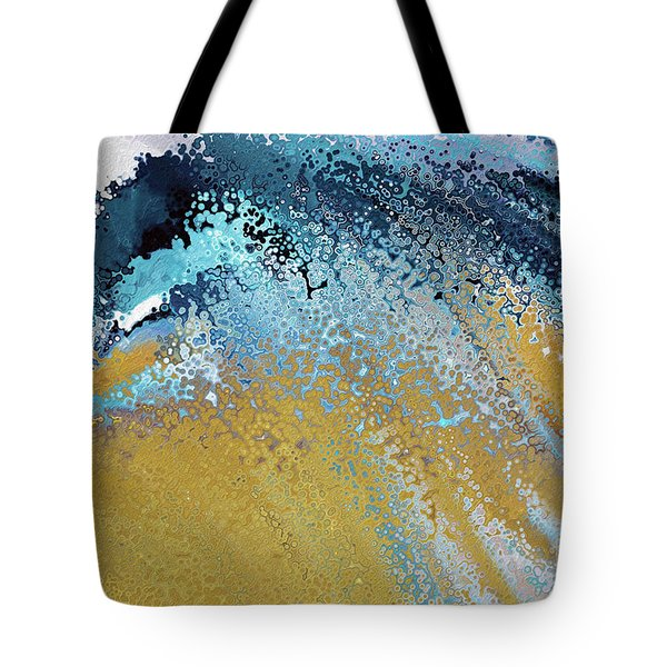 Acts 22 16. Why Are You Waiting Tote Bag