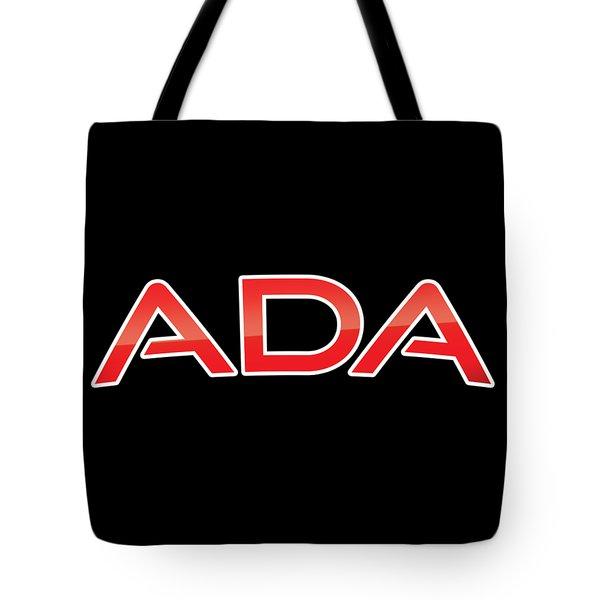 Ada Tote Bag