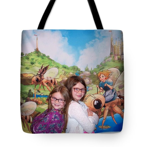 Addy, Rylie, And Tammy Tote Bag