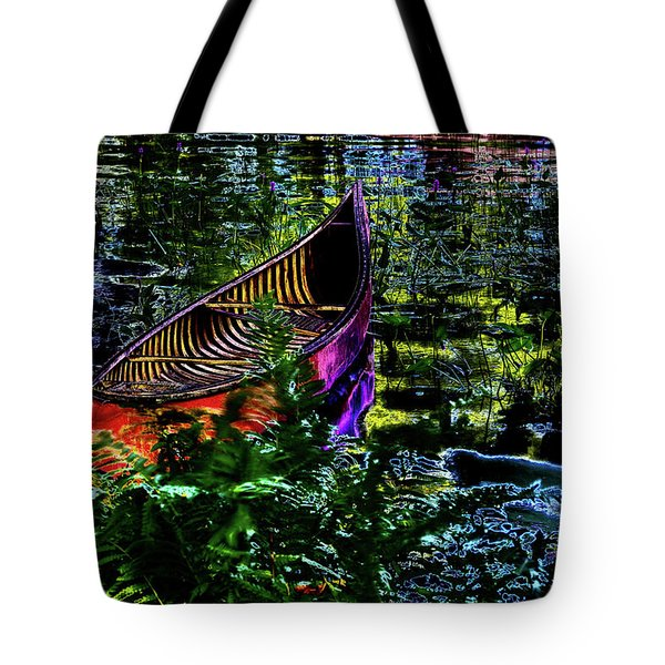Tote Bag featuring the photograph Adirondack Guide Boat by David Patterson