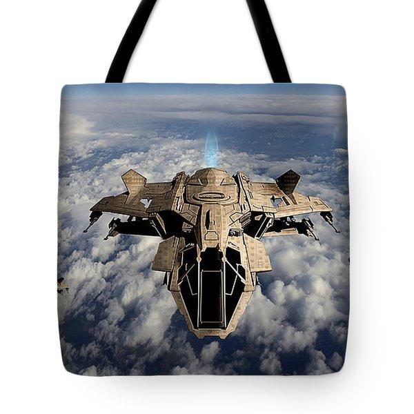 Advanced Aircraft Tote Bag