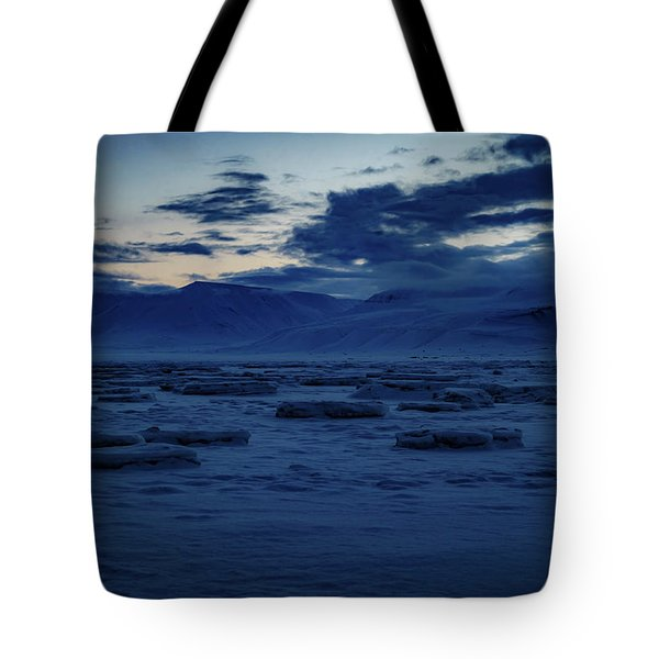 Adventfjorden  Tote Bag