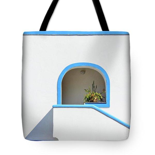 Aeolian Geometry Tote Bag