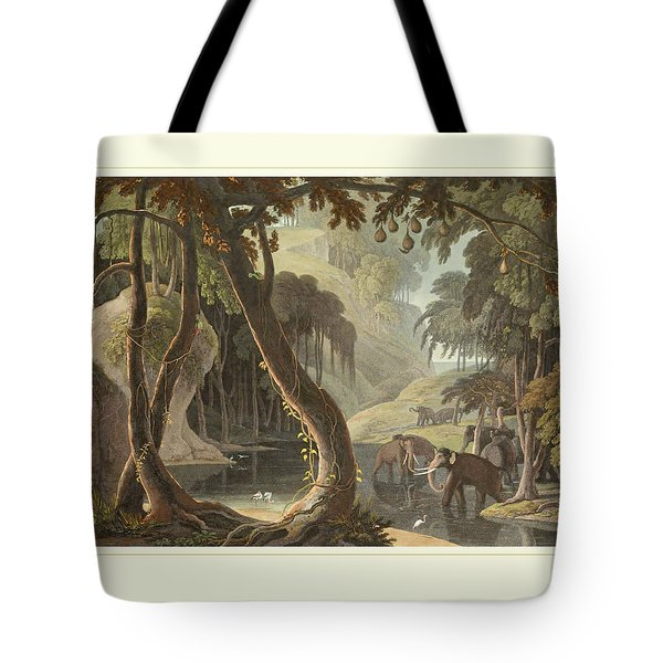 African Elephants Tote Bag