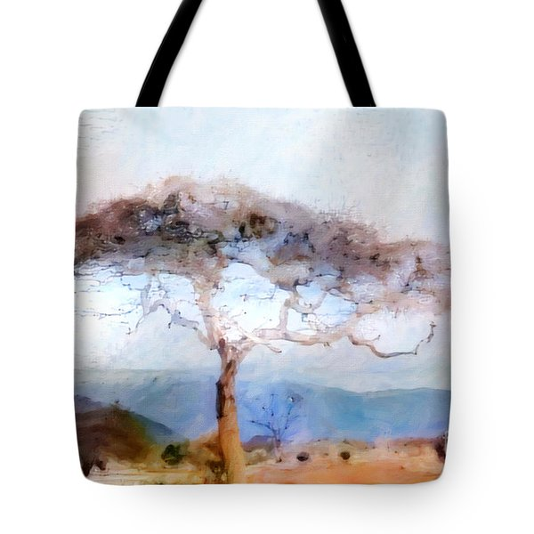 African Journey Tote Bag