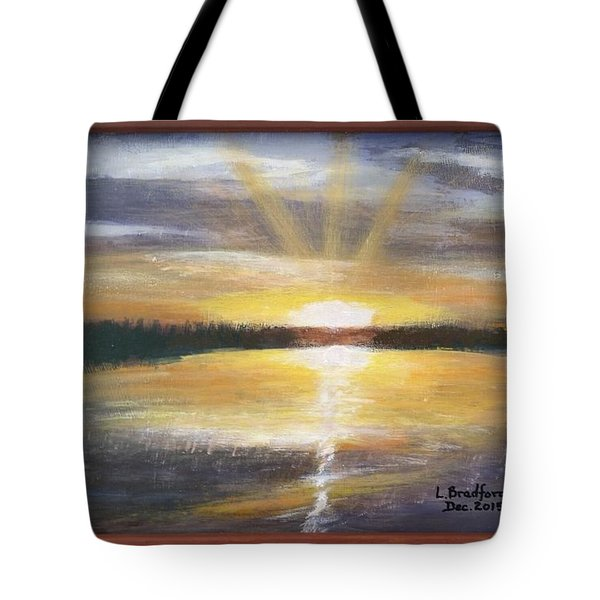 African Sunset Tote Bag