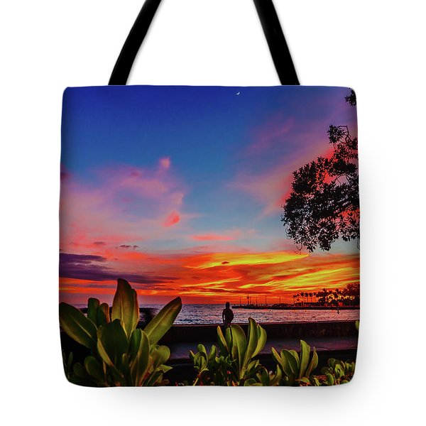 After Sunset Colors Tote Bag