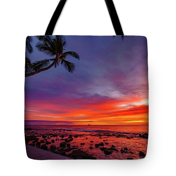 After Sunset Vibrance Tote Bag