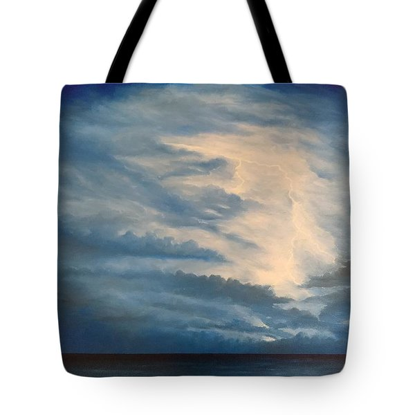 Tote Bag featuring the painting After The Storm by Kevin Daly