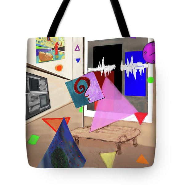 Afternoon At The Museum Tote Bag