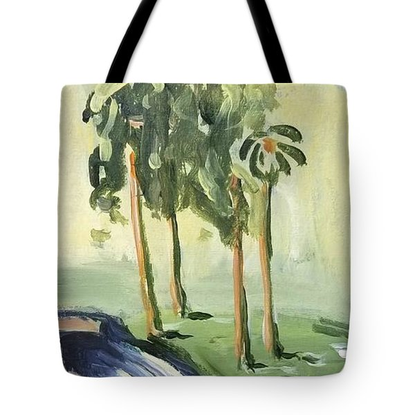 Afternoon In The Park Tote Bag