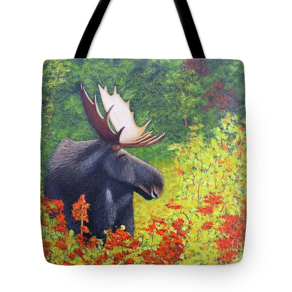 Afternoon Munch Tote Bag