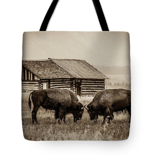 Age Old Conflict Tote Bag