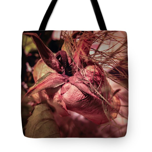 Tote Bag featuring the photograph From Series Ageing Of The Skin 1  by Juan Contreras