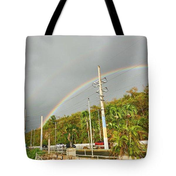Aguadilla Rainbow Tote Bag