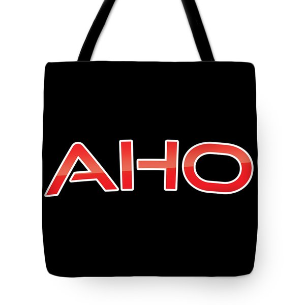 Tote Bag featuring the digital art Aho by TintoDesigns