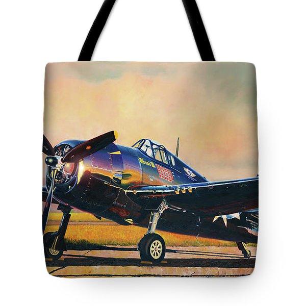 Airshow Hellcat Tote Bag