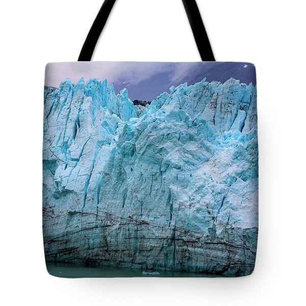 Alaskan Blue Glacier Ice Tote Bag