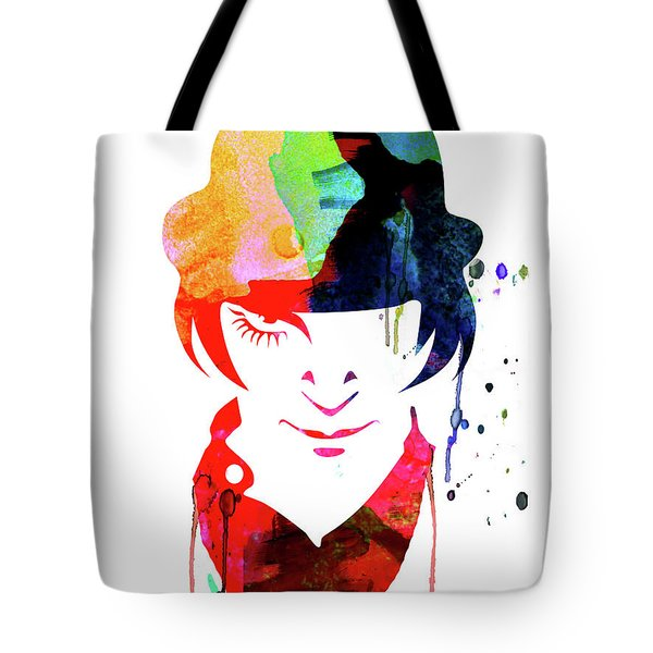 Alex Watercolor Tote Bag