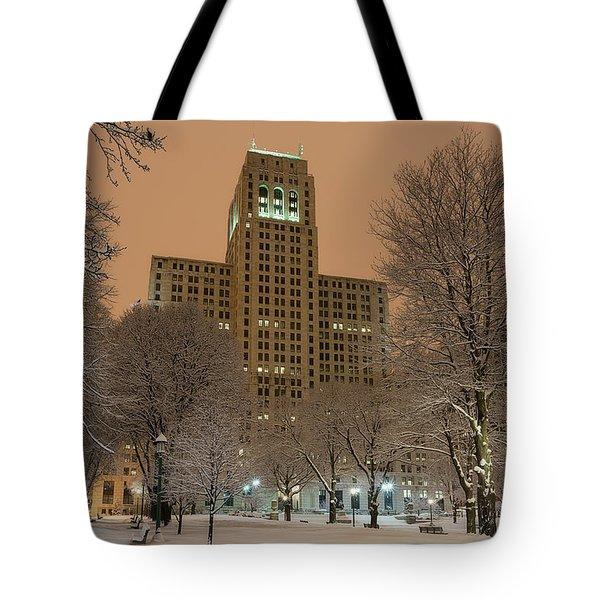 Alfred E. Smith Building Tote Bag