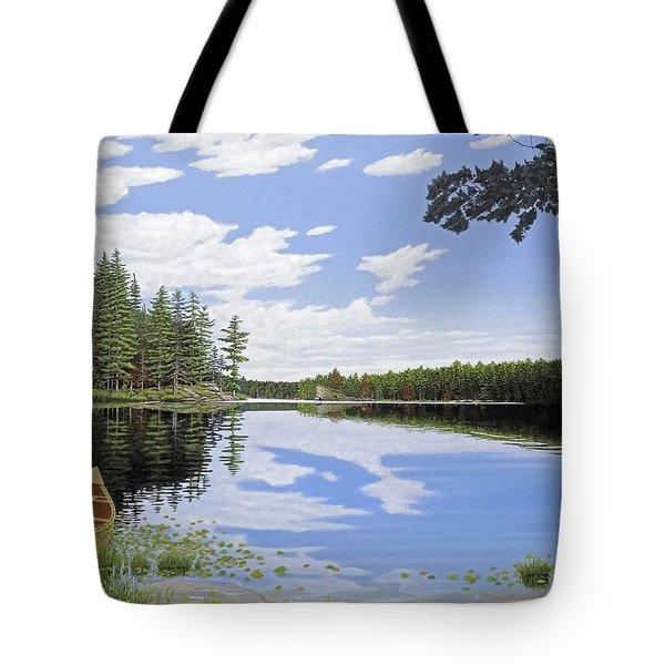 Algonquin Portage Tote Bag