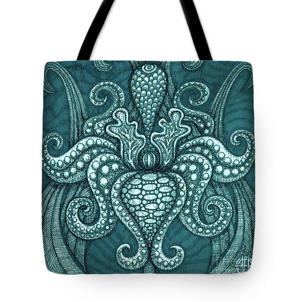 Alien Bloom 13 Tote Bag