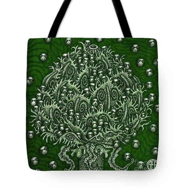 Alien Bloom 15 Tote Bag