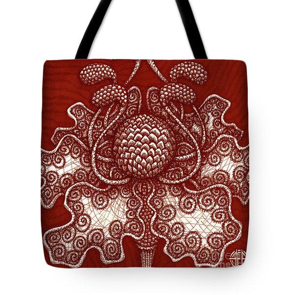 Alien Bloom 18 Tote Bag