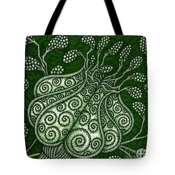 Alien Bloom 25 Tote Bag