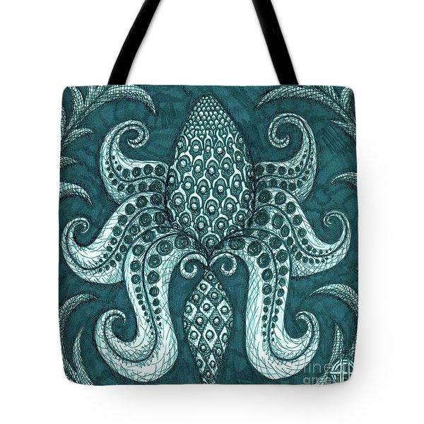 Alien Bloom 3 Tote Bag
