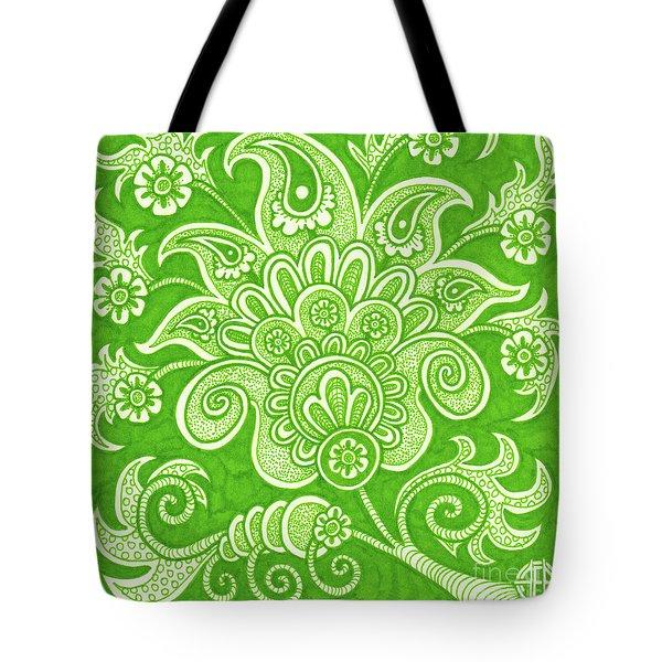 Alien Bloom 4 Tote Bag
