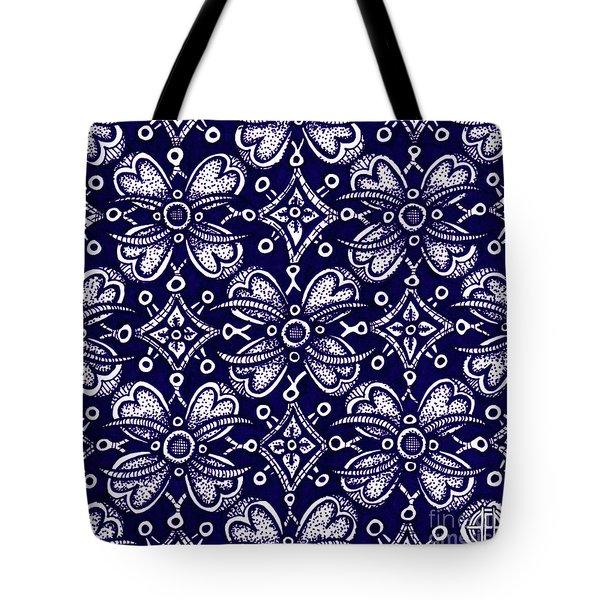 Alien Bloom 9 Tote Bag