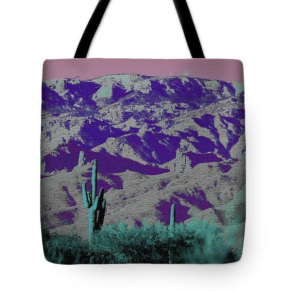 Alien Colors On Mount Lemmon Tote Bag