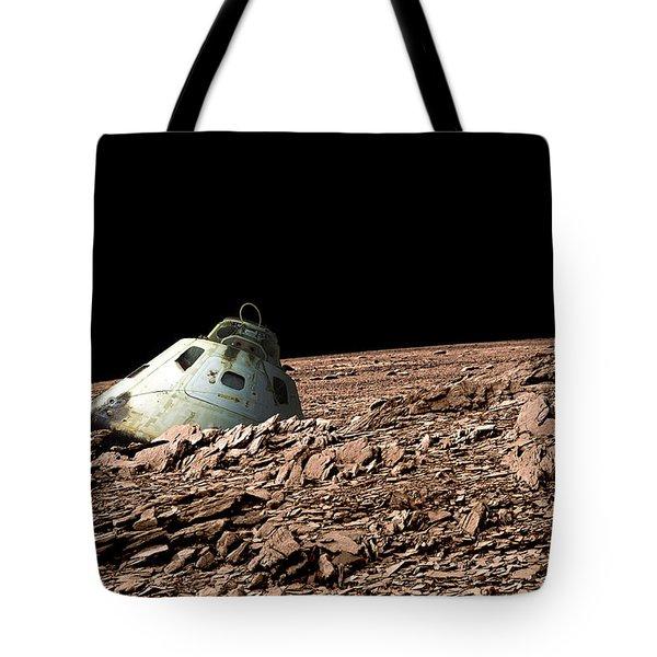 Alien Landscape No.19 Tote Bag