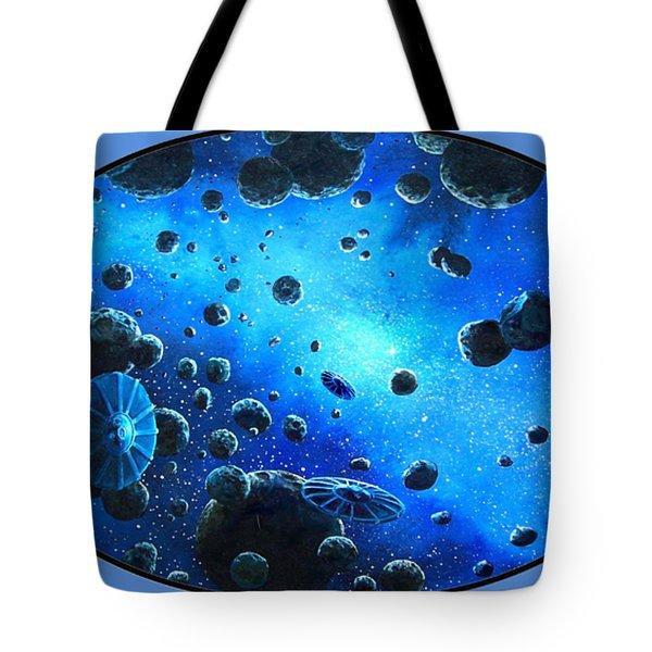 Aliens In Space Tote Bag