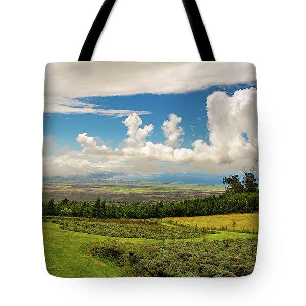 Alii Kula Lavender Farm Tote Bag