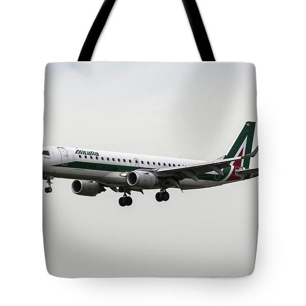 Alitalia Embraer 190 Tote Bag
