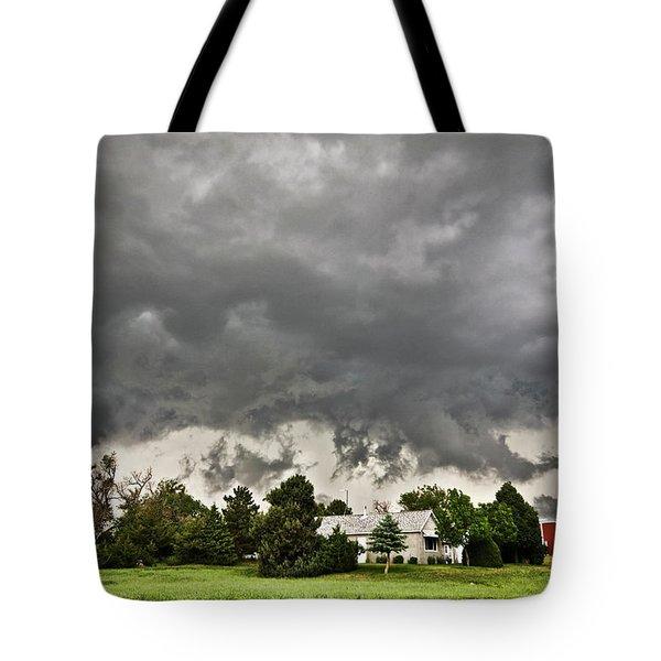 Alive Sky In Wyoming 2 Tote Bag