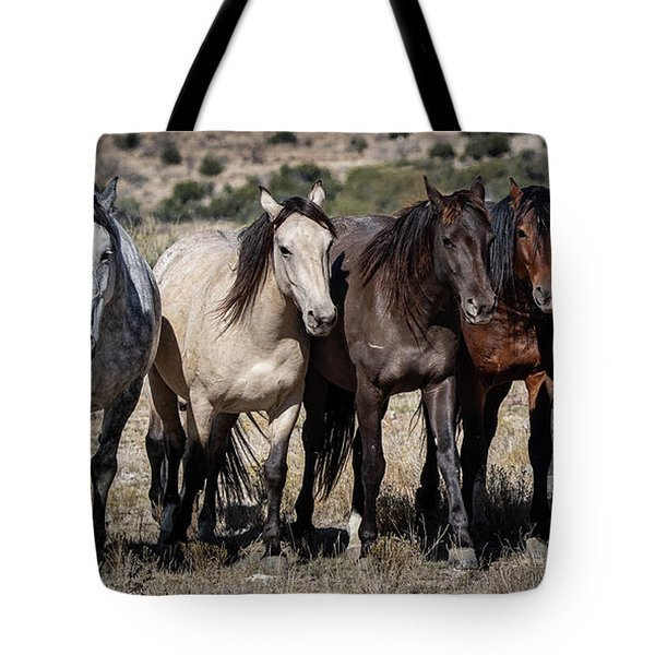 All In A Row Tote Bag