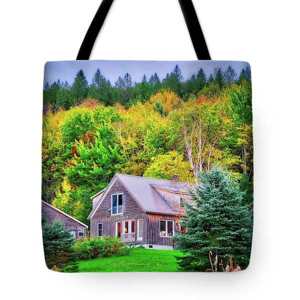 Tote Bag featuring the photograph All Snuggled In by Lynn Bauer