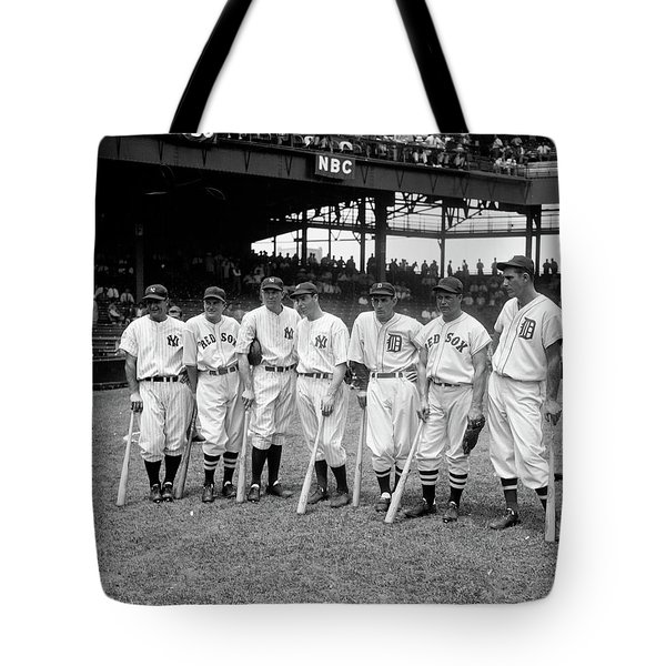 All Stars Crop Final, 1937 Tote Bag
