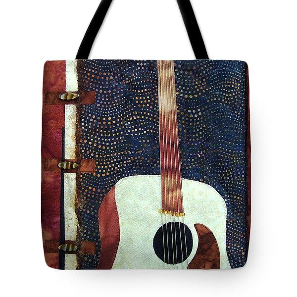 All That Jazz Guitar Tote Bag