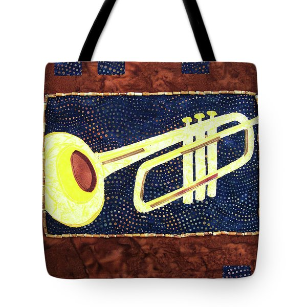 All That Jazz Trumpet Tote Bag