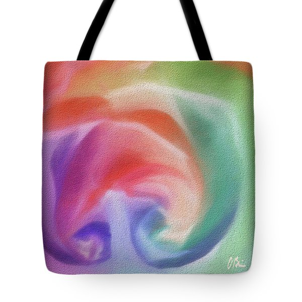 All The Colors Of - Pastel Abstract I.jpg Tote Bag