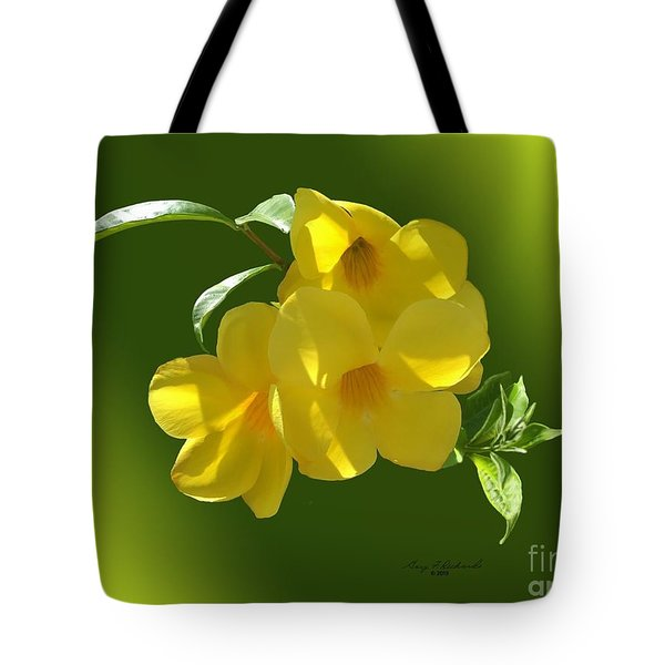 Allamanda Splendor Tote Bag