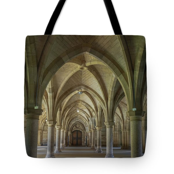 Along The Cloisters Tote Bag